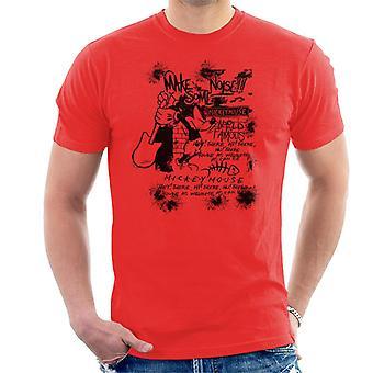 Disney Mickey Mouse Band machen einige Lärm Männer T-Shirt
