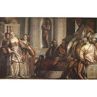 Esther before Ahasuerus, VERONESE Paolo Caliari