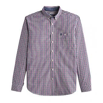 Joules Joules Hewney Long Sleeve Classic Fit Check Shirt (Z)