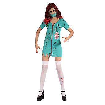 Pani chirurg zombie (sukienka idealna maski)
