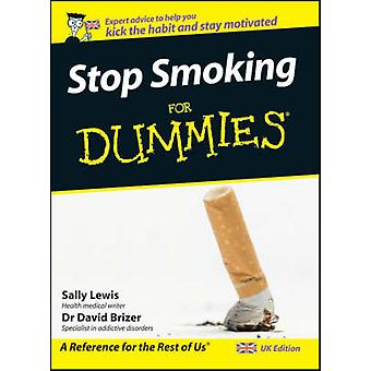 Stop Smoking For Dummies by Sally Lewis - David Brizer - 978047099456