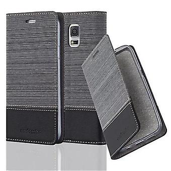 Case for Samsung Galaxy S5 / S5 NEO Foldable phone case - Cover - with stand function and card compartment