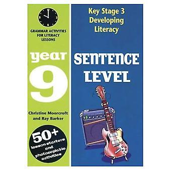 Kehitetään medialukutaidon: Virke taso: kielioppi toiminta lukutaidon oppituntia: vuonna 9 (Developings)