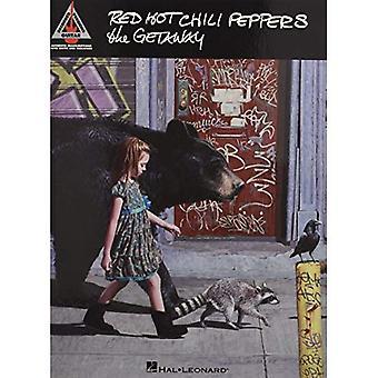 Red Hot Chili Peppers Getaway kitara kirjataan versiot Gtr välilehti Bk (äänitetyt versiot kitara)
