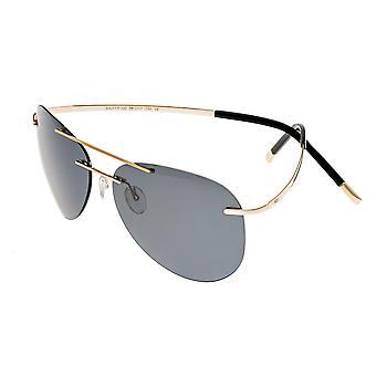تبسيط سوليفان النظارات الشمسية المستقطبة - الذهب / الأسود