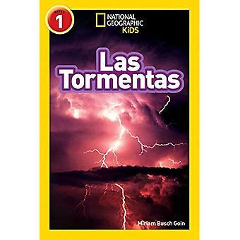 Leitores de geográficos nacionais: Las Tormentas (tempestades)