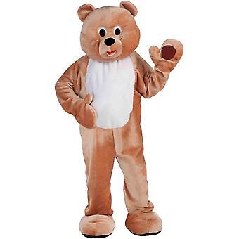 Urs mascotă Adult costum