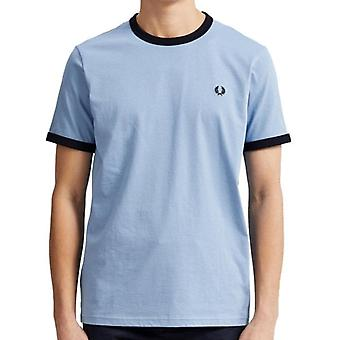 Fred Perry M3519 ringer T-shirt himmel