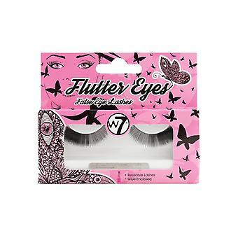 W7 Flutter Eyes Reusable False Eyelashes ~ El03