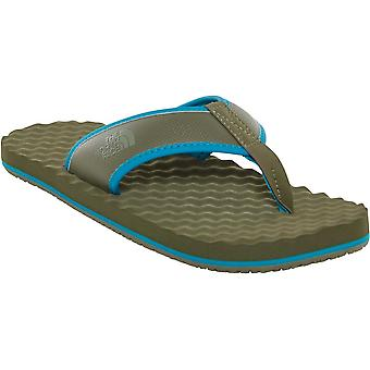 North Face Basecamp Flip Flop - nowy Green szaro-brązowy