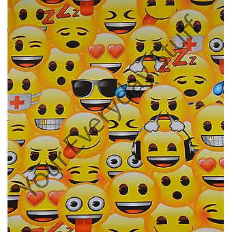 Emoji Wallapaper Kids Children Yellow Emojicon Official Playroom