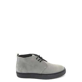 Fred Perry Ezbc094072 Men's Grey Suede Ankle Boots