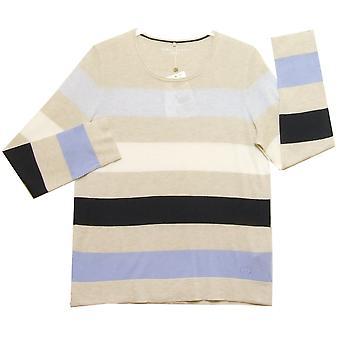 GERRY WEBER Sweater 671065 Beige And Navy