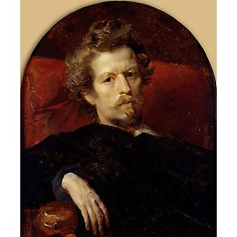 Self-Portrait, Karl Briullov, 64.1 x54cm