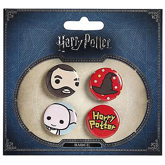 Harry Potter cutie Button emblem (stil 4)
