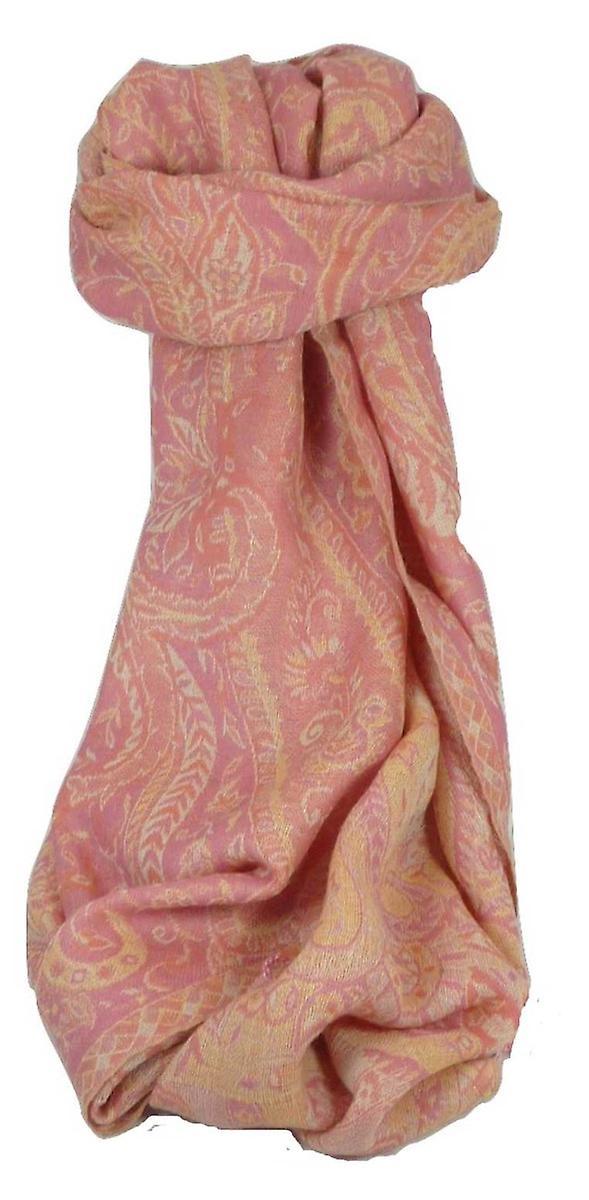 Muffler Scarf 3723 in Fine Pashmina Wool Heritage Range by Pashmina & Silk