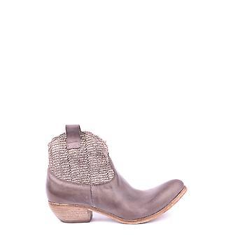 Savio Barbato Ezbc340001 Women's Brown Leather Ankle Boots