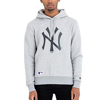 New Era Fleece Hoody - MLB New York Yankees grau
