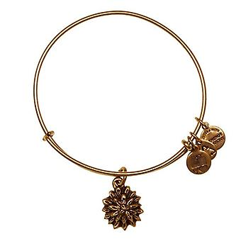 Alex and Ani Water Lily Gold Bangle A12EB39RG