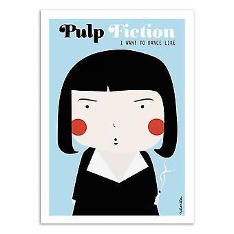 Art-Poster - Pulp Fiction - Ninasilla