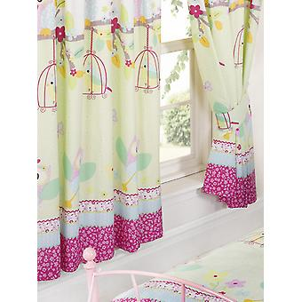 Twit Twoo Owls Lined Curtains