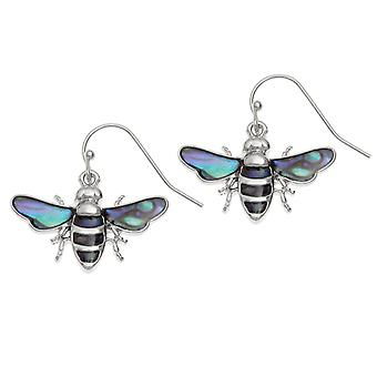 Éternelle Collection Bumblebee coquillage Paua fermoir Drop boucles d'oreilles
