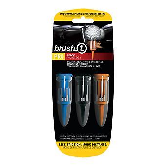 BrushT blandet combo Golf Tees med ball markør 3 Pack