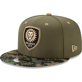 New Era 9Fifty Snapback Cap - MLS Orlando City digi camo