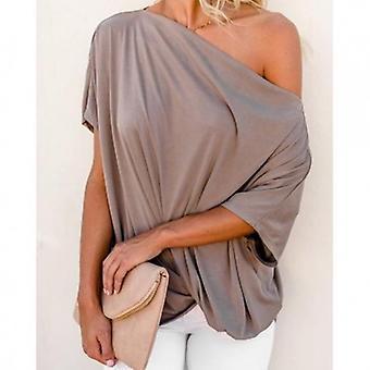 Over zided bluse plus størrelse