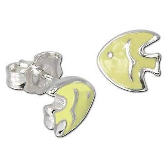 HANSON Weenie for kids and teens-Silver Earrings Sterling 925 VSDO605Y