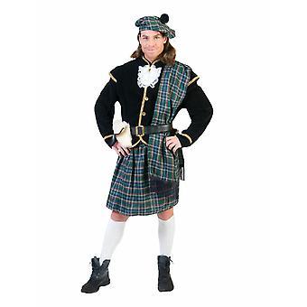 Schotse mannen kostuum clan Highlander mannen kostuum