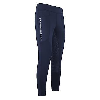 Imperial Riding Like A Pro Womens Riding Tights - Navy Blue
