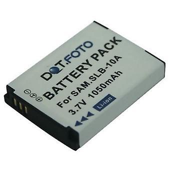 Dot.Foto Samsung SLB-10A wymiana baterii - 3, 7V / 1050mAh