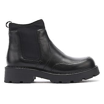 Vagabond Cosmo 2.0 Womens Black Leather Chelsea Boots