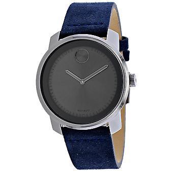 Movado Men's Bold Grey Dial Watch - 3600454