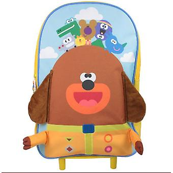 Hey Duggee Gary Boys Girls Wheeled Bag Luggage