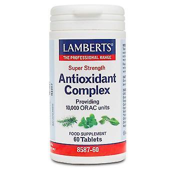 LAMBERTS super vahvuus antioksidantti monimutkainen väli lehdet 60 (8587-60)