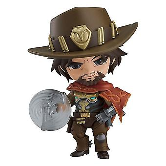 Overwatch Nendoroid McCree Classic Skin Action Figure Printed, 100% Plastic, in Gift Wrap.