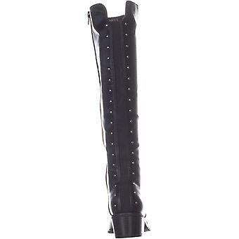 Bar III Womens Vayla Almond Toe Knee High Fashion Boots