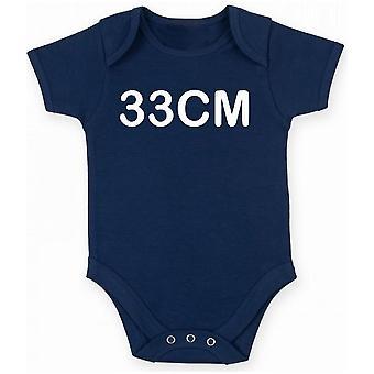 Body neonato blu navy tsr1007 33 cm