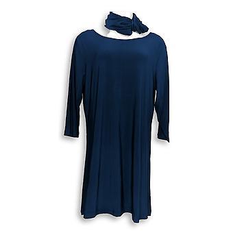 Attitudes by Renee Petite Dress XLP Wardrobe Warrior Blue A308329