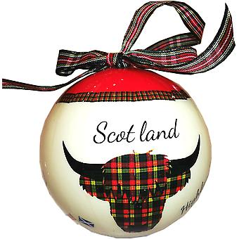 Samle en bauble Highland Cow