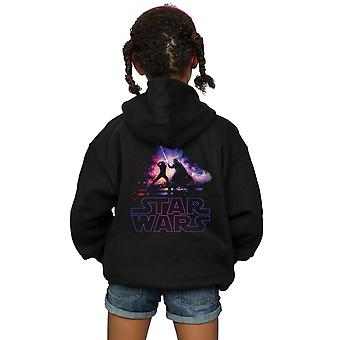 Star Wars Girls Lightsaber Battle Zip Up Hoodie