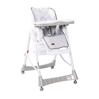 Lorelli high chair Gusto, foldable adjustable table cup recess seat cushion