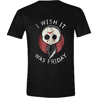 Vendredi 13 Jason Voorhees Horror Official T-Shirt