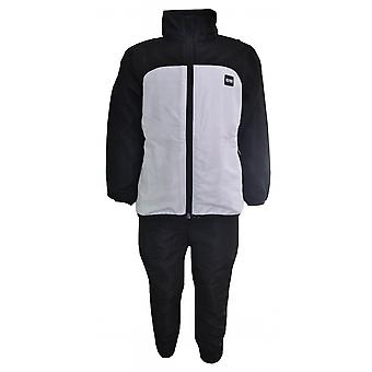 Hugo Boss Boys Hugo Boss Kids Black And White Full Tracksuit