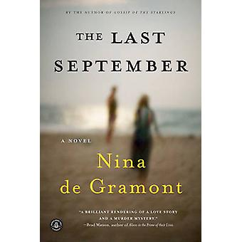 The Last September by Nina De Gramont - 9781616206093 Book