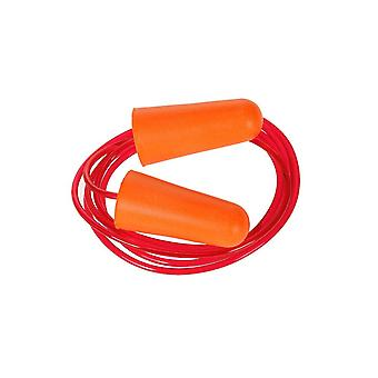 Portwest corded pu foam ear plug (200 pairs) ep08