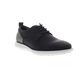 G.H. Bass Duncan Tumbled  Mens Black Casual Lace Up Oxfords Shoes