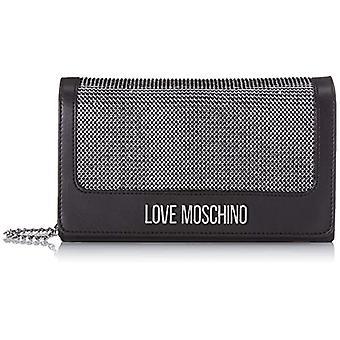 Kjærlighet Moschino Jc4055pp1a Svart Håndpose for kvinner (svart) 6x13x23 cm (B x H x L)